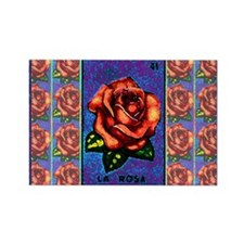 La Rosa & Friends Rectangle Magnet