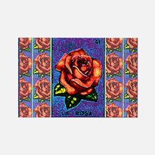 La Rosa & Friends Rectangle Magnet