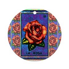 La Rosa & Friends Ornament (Round)