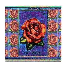 La Rosa & Friends Tile Coaster