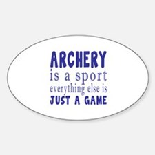 Archery is a sport Decal