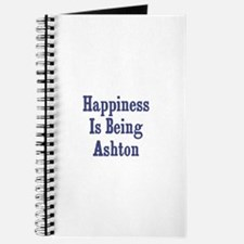 Happiness is being Ashton Journal