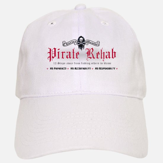 Pirate Rehab Baseball Baseball Cap