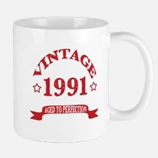 Vintage 1991 Aged to Perfection Mug