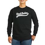 Stock Broker Long Sleeve Dark T-Shirt