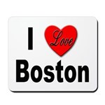 I Love Boston Mousepad