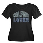 Dolphin Lover Love Porpoise Women's Plus Size Scoo