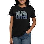 Dolphin Lover Love Porpoise Women's Dark T-Shirt