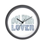 Dolphin Lover Love Porpoise Wall Clock