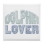 Dolphin Lover Love Porpoise Tile Coaster