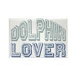 Dolphin Lover Love Porpoise Rectangle Magnet (10 p