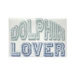Dolphin Lover Love Porpoise Rectangle Magnet (100