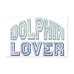 Dolphin Lover Love Porpoise Mini Poster Print