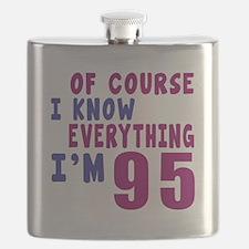 I Know Everythig I Am 95 Flask