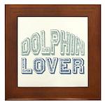 Dolphin Lover Love Porpoise Framed Tile