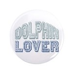 "Dolphin Lover Love Porpoise 3.5"" Button (100 pack)"