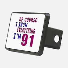 I Know Everythig I Am 91 Hitch Cover