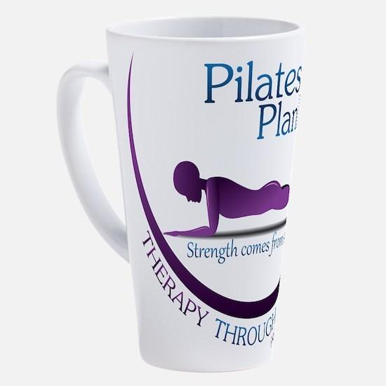 Cute Pilates 17 oz Latte Mug