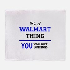 It's a WALMART thing, you wouldn't u Throw Blanket