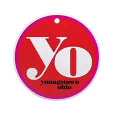 RED-Yo! Ornament (Round)