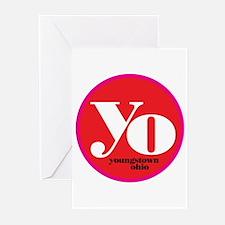 Red Yo! Greeting Cards (Pk of 10)