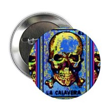 "Las Calaveras 2.25"" Button"