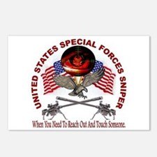 Special Forces Sniper Postcards (Package of 8)