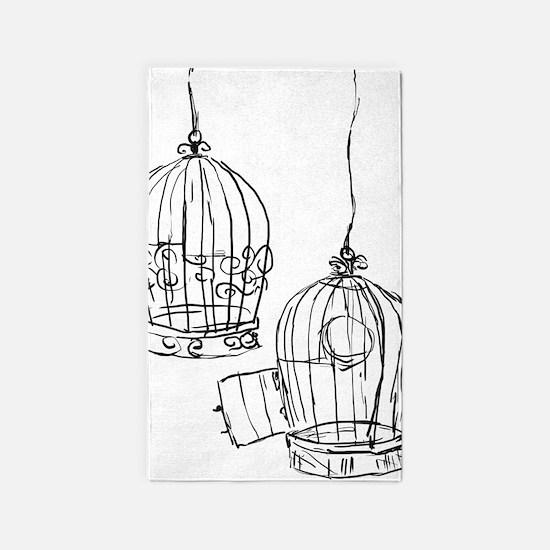 Birdcage 1 Area Rug