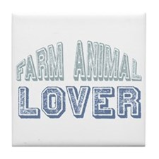 Farm Animal Lover 4h Pets Tile Coaster