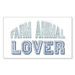 Farm Animal Lover 4h Pets Rectangle Sticker