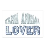 Farm Animal Lover 4h Pets Postcards (Package of 8)