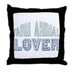Farm Animal Lover 4h Pets Throw Pillow