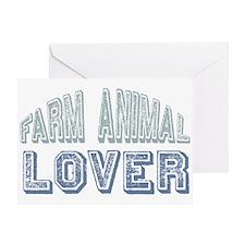 Farm Animal Lover 4h Pets Greeting Card