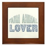 Farm Animal Lover 4h Pets Framed Tile