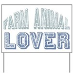 Farm Animal Lover 4h Pets Yard Sign