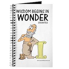 Wisdom Begins in Wonder Journal