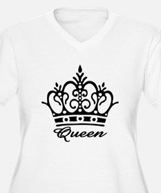 QueenBlackCrownW Plus Size T-Shirt