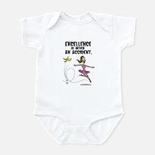 Excellence is no Accident Infant Bodysuit