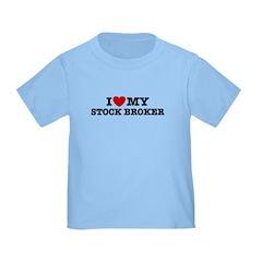 I Love My Stock Broker T