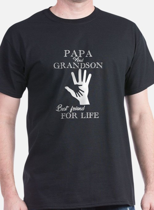 Papa And Grandson T-Shirt