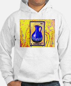 El Cantarito on Yellow Hoodie