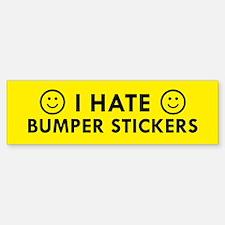 I Hate Bumper Bumper Bumper Stickers Bumper Bumper Bumper Sticker