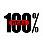 100 Percent Real Postcards (Package of 8)