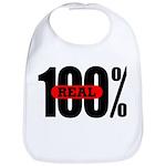100 Percent Real Bib