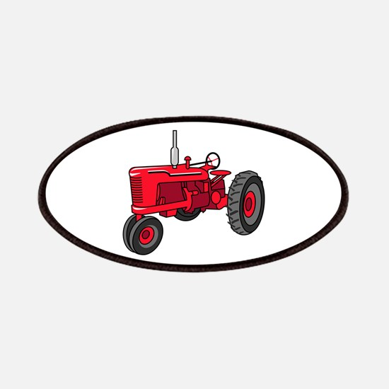 Vintage Red Tractor Patch