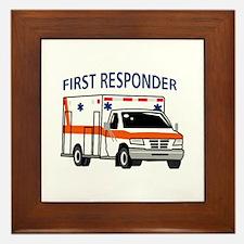 First Responder Framed Tile