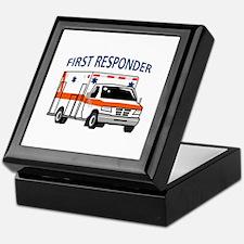 First Responder Keepsake Box
