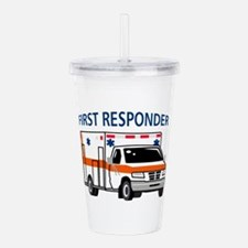 First Responder Acrylic Double-wall Tumbler