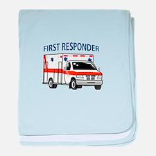 First Responder baby blanket