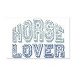 Horse Lover Equine Riding Mini Poster Print